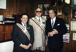 Danny Aiello, A. Marino and award winner at the 1995 Columbus Day Dinner by Ace (Armando) Alagna, 1925-2000