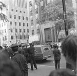 Police contingent at RFK funeral at St. Patrick's Cathedral, New York City