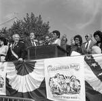 Congressman Peter Rodino, Jr., Ken Gibson Mayor of Newark, NJ, Frankie Avalon by Ace (Armando) Alagna, 1925-2000