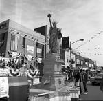 Columbus Day Parade - Statue of Liberty float by Ace (Armando) Alagna, 1925-2000