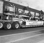 Columbus Day Parade Anthony Imperale Association float by Ace (Armando) Alagna, 1925-2000