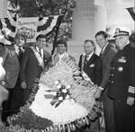 Columbus Day Parade Buddy Fortunado, Frankie Avalon, Ace Alagna, Governor Thomas Kean by Ace (Armando) Alagna, 1925-2000
