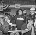 Columbus Day Parade spectators