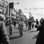 Columbus Day Parade Clown contingent by Ace (Armando) Alagna, 1925-2000