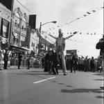 Columbus Day Parade Stilt Walker