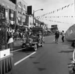 Columbus Day Parade Fancy car by Ace (Armando) Alagna, 1925-2000