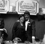 Frankie Avalon and Mrs. Alagna at the Columbus Day Parade Dinner