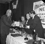 Presentation of Humanitarian Award to Mr + Mrs Joseph Pieretti, Jr