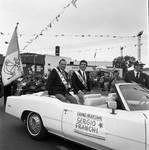 Sergie Franchi at the 1985 Columbus Day Parade