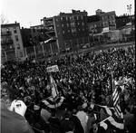 Crowd shot during Vice President Hubert Humphrey's 1966 tour of New Jersey