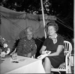 Muriel Buck Humphrey and Elizabeth Hughes