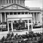 Portico of the U.S. Capitol, Richard M. Nixon's Inauguration