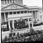 Portico of the U.S. Capitol, Richard M. Nixon's Inauguration