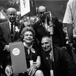 At the 1968 Democratic National Convention, Chicago, Illinois