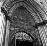 Facade of St. Patrick's Cathedral, New York, N.Y.