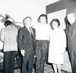Toni Dalli, Mrs. Maria Lanza and others pose for a photo