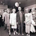 Jose Ferrer at Paper Mill Playhouse, standing with woman