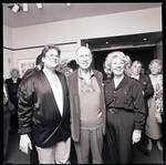 Jose Ferrer at Paper Mill Playhouse posing with group