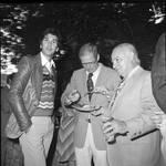 Frank Longella  with two men