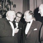 Adlai Stevenson talking with Ludwig Erhard by Ace (Armando) Alagna, 1925-2000