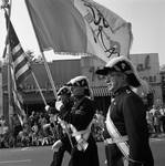 Marching in the 1968 Belleville Columbus Day Parade