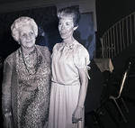 Two women at Dolly Dawn performance