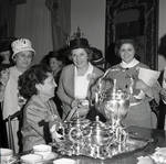 Anne Rodino and others at a Rodino Association card party by Ace (Armando) Alagna, 1925-2000