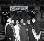 Peter W. Rodino and others during the St. Patrick's Day parade, Newark, N.J.