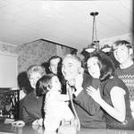 Peter W. Rodino with family on election night