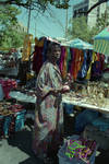 At the 1995 African Festival in Newark, NJ