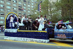 Hispanos Unidos float in the 1995 Puerto Rican Parade