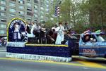 Hispanos Unidos float in the 1995 Puerto Rican Parade