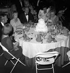Jean Featherly Byrne, Brendan Byrne, Celeste Holm and others at the 1978 Opera Ball, Newark Airport
