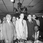 Brendan Byrne and others at a political breakfast at Don's 21