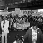 Supporters during a visit of President Jimmy Carter in Newark, NJ