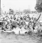 Residents at Newark Pool, Newark, NJ