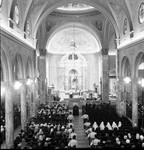 Service at St. Lucy's Church, Newark, NJ