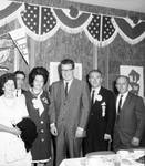 Peter W. Rodino, Governor Hughes and others at a NJ event for Lyndon B. Johnson