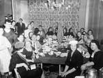 Peter W. Rodino and others at a dinner party
