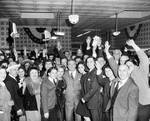 Peter W. Rodino and others at a campaign celebration