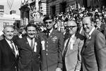 Peter W. Rodino poses with other members of the Columbus Day Committee