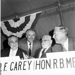 Peter W. Rodino, Robert Meyner and others at political event