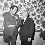 Peter W. Rodino at a political event