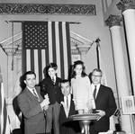 Legislators and family members at the opening session