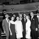 At the opening session of the NJ legislature with family members by Ace (Armando) Alagna, 1925-2000