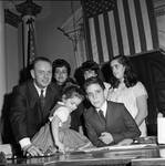 NJ Assembly member Douglas E. Gimson and family