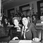 NJ State Assembly member Herbert J. Heilmann and a family member in the Assembly chamber