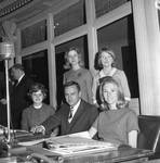 NJ State Senator Raymond H. Bateman and others in the Senate chamber