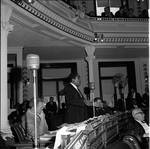 NJ State Assembly member George C. Richardson speaks in the Assembly chamber