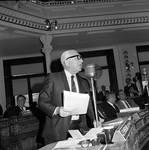 NJ  State Assembly member Paul Policastro speaks on the Assembly floor